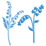Blue Bells and Lily of the Valley    per set