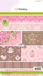 Paper stack High Tea Rose 32 vel A5    per pak
