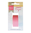 Craft tape 20 mm x 10 mtr; non permanent tape    per stuk
