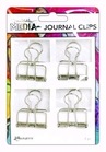 Dina Wakley Media Journal Clips   4pc    per set