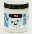 Kristall Gel Transparant   250 ml    per pot