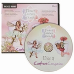Flower Fairies CD3  Zinnia & Wild Cherry    per stuk