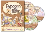 Popcorn the Bear 3 CD-Box    per set