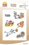 Storybook stamps Animals Play   per set