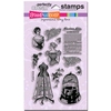 Corset Ladies Perfectly Clear stamps   per set