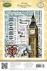 London Background Stamp   per stuk