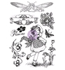 Cling Stamps Princess   per vel