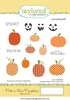 Peek-a-Boo Pumpkins   per set