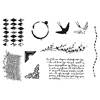 Journaling Clear stamps   per set
