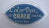 French Blue Cat's Eye Chalk    per stuk