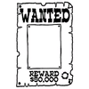 Wanted!   per stuk