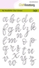 Handletter - Alphabet lower case open   per set